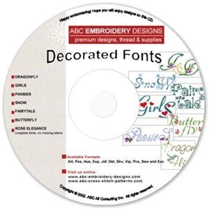 7 Decorated Fonts and Alphabets