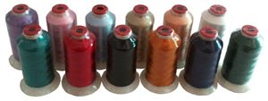 Basic Colors Polyester Thread!