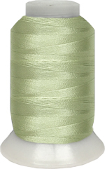 ThreaDelight Polyester Embroidery Thread Yellow Green LT 60WT