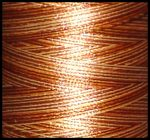 M113 - Copper Variegated Embroidery Thread Cone