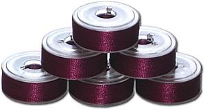 72 L Pre-Wound Bobbins - Light Plum (P567)