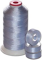 Matching Bobbins & Thread - Blue Violet LT Color