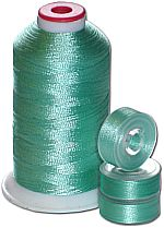 Matching Bobbins & Thread - Jade LT Color