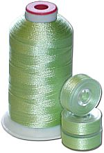Matching Bobbins & Thread - Yellow Green LT Color