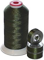 Matching Bobbins & Thread - Avocado Green DK