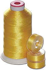 Matching Bobbins & Thread - Canary BRT Color