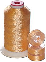 Matching Bobbins & Thread - Pale Beech Wood