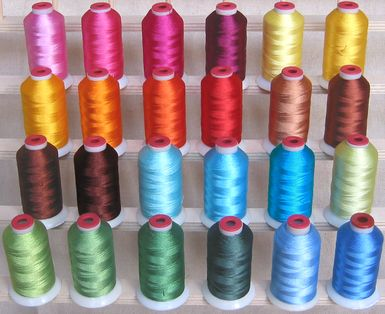 Spring Colors Polyester Thread!