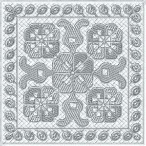 Crochet Square Lace 1