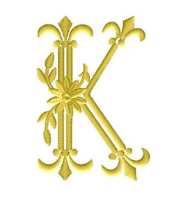 K from Royal Heritage Alphabet