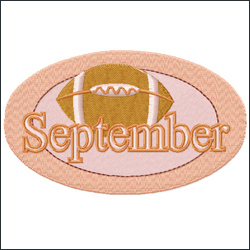 September from Twelve Month Gala Patches