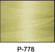 ThreaDelight Polyester Embroidery Thread Yellow Beige LT