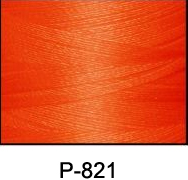 ThreaDelight Rayon Embroidery Thread Fire Orange
