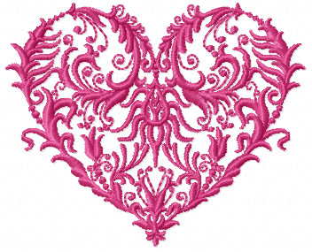 Heart 9 from 10 Valentines Hearts