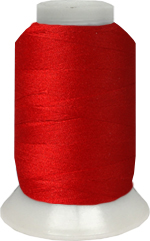 ThreaDelight Polyester Embroidery Thread Christmas Red 60WT