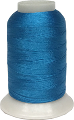 ThreaDelight Polyester Embroidery Thread Electric Blue MD 60WT