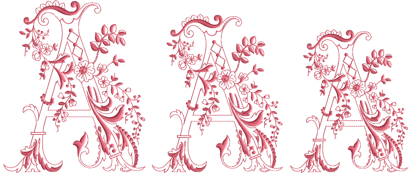 Enlaced-Romance-Embroidery-Designs-Alphabet A