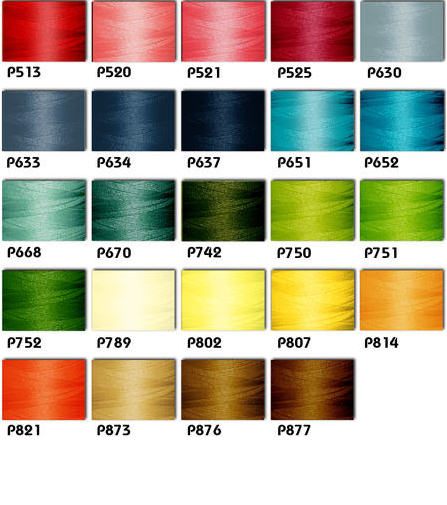 Polyester Embroidery Threads Kit 24 Spring Colors