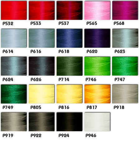 Polyester Embroidery Threads Kit 24 Winter Colors