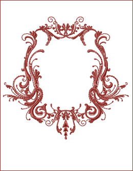 Frame 10 embroidery design