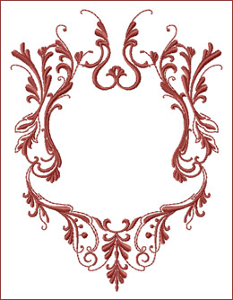 Frame 3 embroidery design
