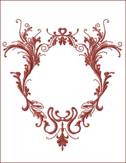Frame 4 embroidery design