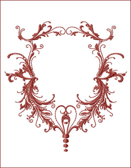 Frame 7 embroidery design