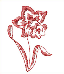 Flower 4 embroidery designs