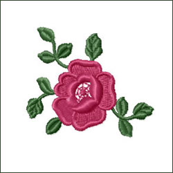 Rose 3 Embroidery Design