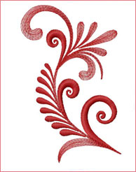 Flourishing Stem 4 embroidery design