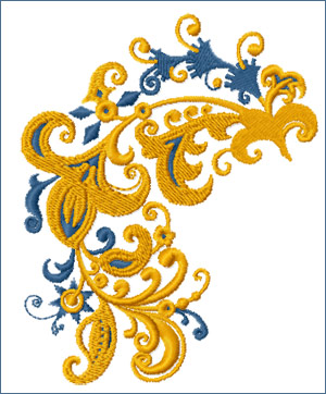 Branch Motif embroidery designs
