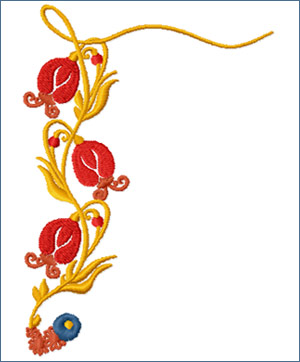 Frame Side embroidery designs